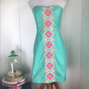 Vineyard Vines Caribbean Embroidered Dress